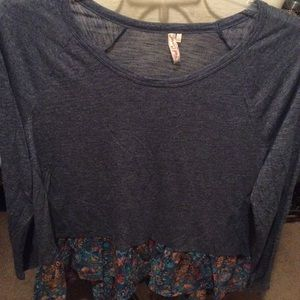 Cute red Camel size large top